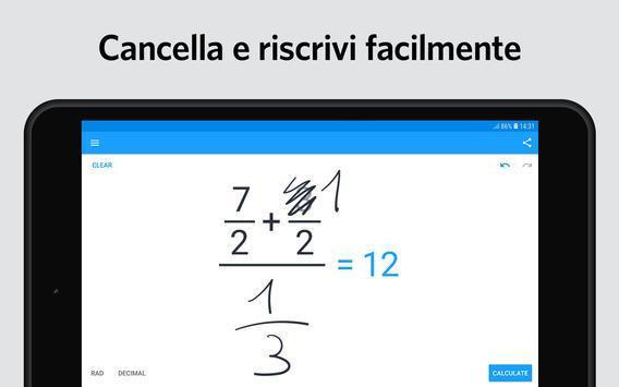 6 Schermata MyScript Calculator 2