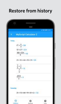 MyScript Calculator 2 screenshot 4