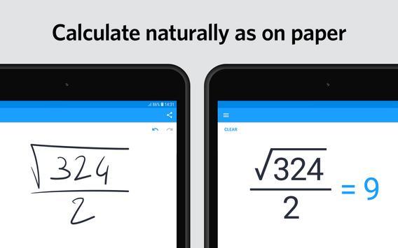 MyScript Calculator 2 screenshot 5