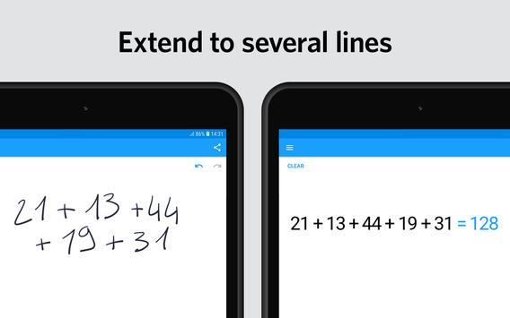 MyScript Calculator 2 screenshot 7