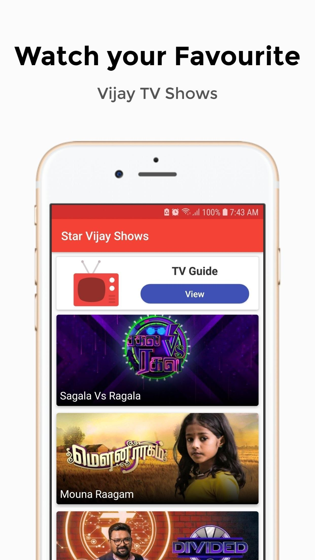 Vijay TV Tamil Serials & TV Shows | FREE for Android - APK Download