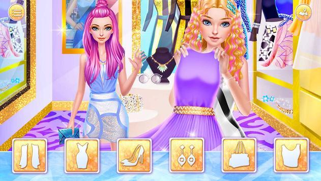 Hair Stylist Fashion Salon ❤ Rainbow Unicorn Hair screenshot 7