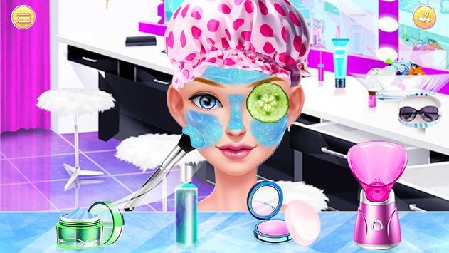 Hair Stylist Fashion Salon ❤ Rainbow Unicorn Hair screenshot 8
