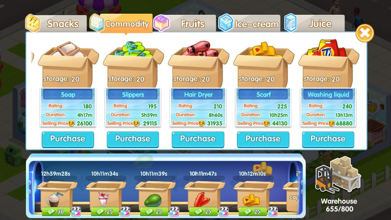 My Supermarket Story Store Tycoon Simulation For Android Apk