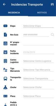 Incidencias de Transportes screenshot 3