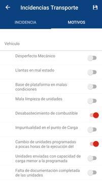 Incidencias de Transportes screenshot 1