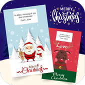 Christmas Greeting Cards Maker icon