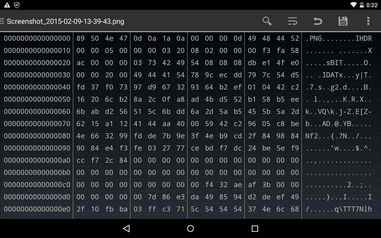 Aplikasi android download HEX Editor