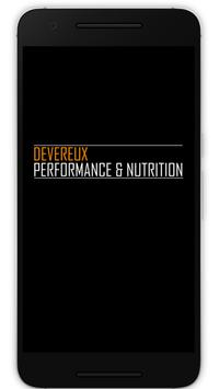 Dev Performance & Nutrition poster
