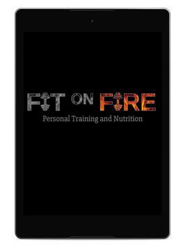 Fit on Fire تصوير الشاشة 5