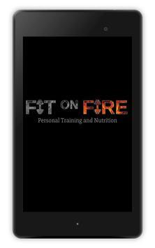 Fit on Fire تصوير الشاشة 10