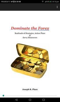 e-BOOK 'DOMINATE THE FOREX' by Joseph R. Plazo poster