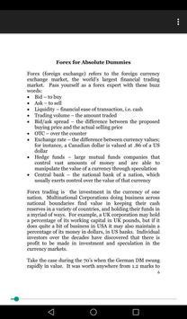 e-BOOK 'DOMINATE THE FOREX' by Joseph R. Plazo screenshot 2
