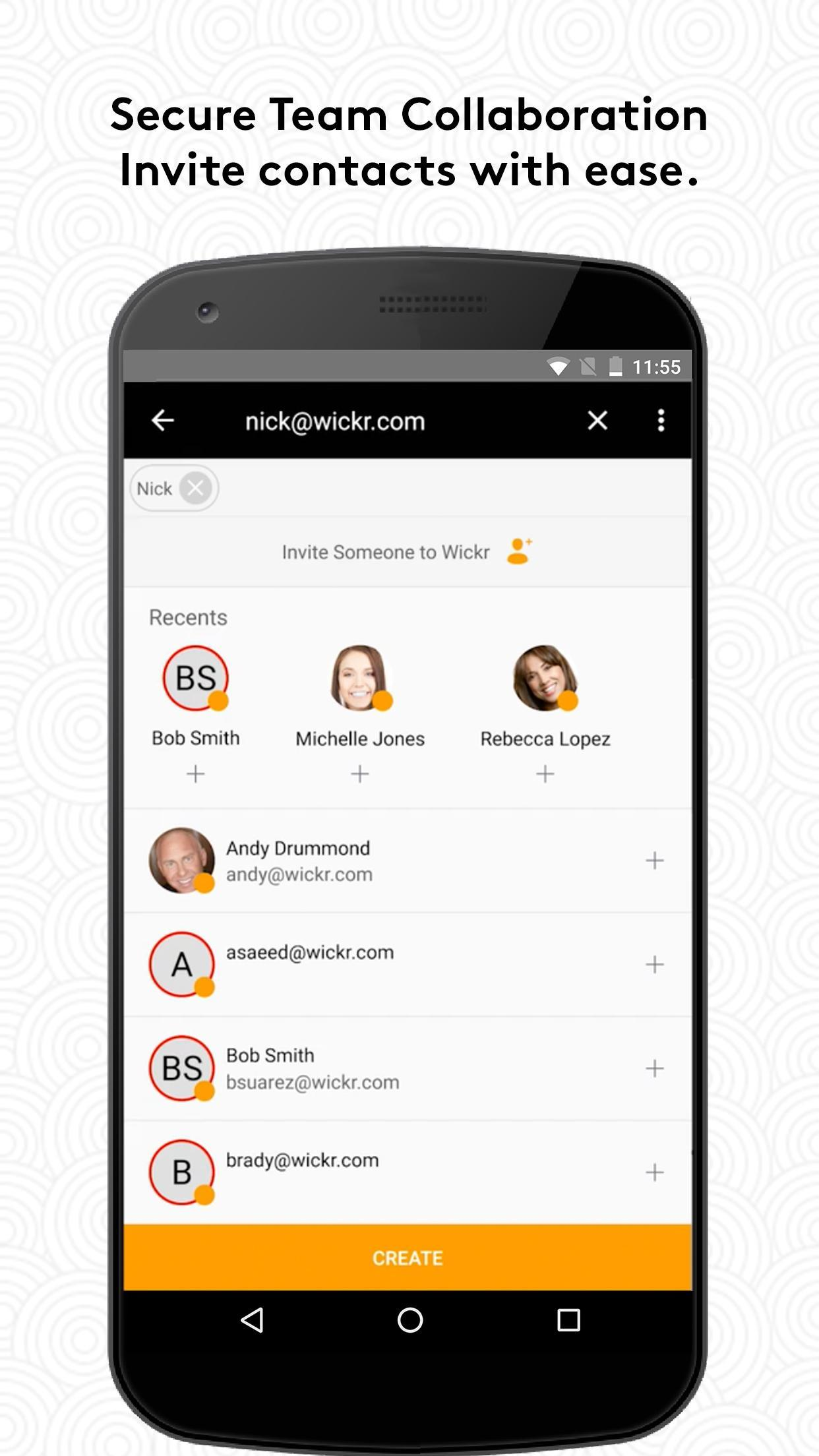 Wickr Me for Android - APK Download