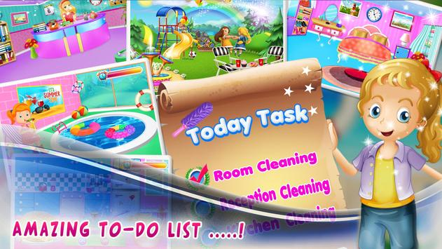 Room Cleaning Game for Girls screenshot 2