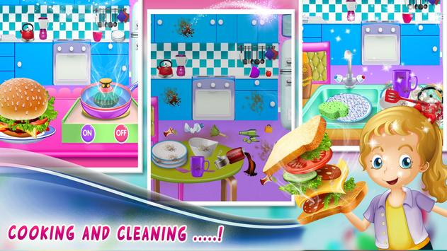 Room Cleaning Game for Girls screenshot 3