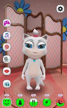 Моя Говорящая Кошка постер