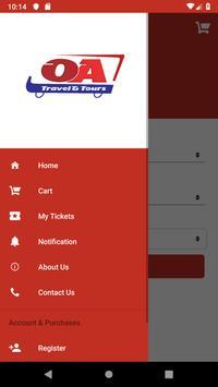 OA Tickets screenshot 1