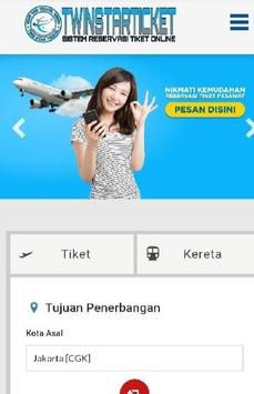 Tiket Perjalanan - Twinstarticket screenshot 1