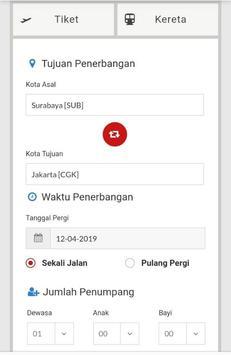 Tiket Perjalanan - Twinstarticket screenshot 2