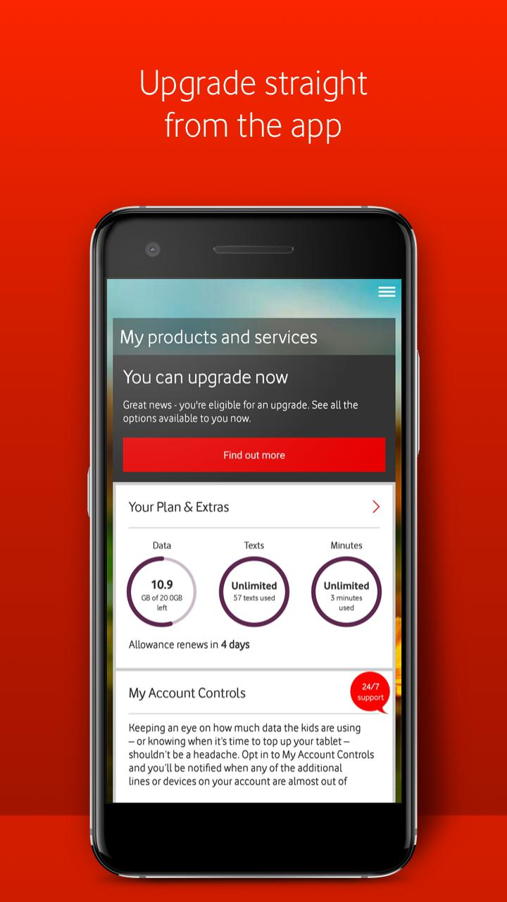 My Vodafone for Android - APK Download