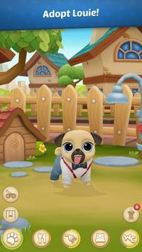 5 Schermata Giochi di Animali Virtuali 🐾 Louie the Pug