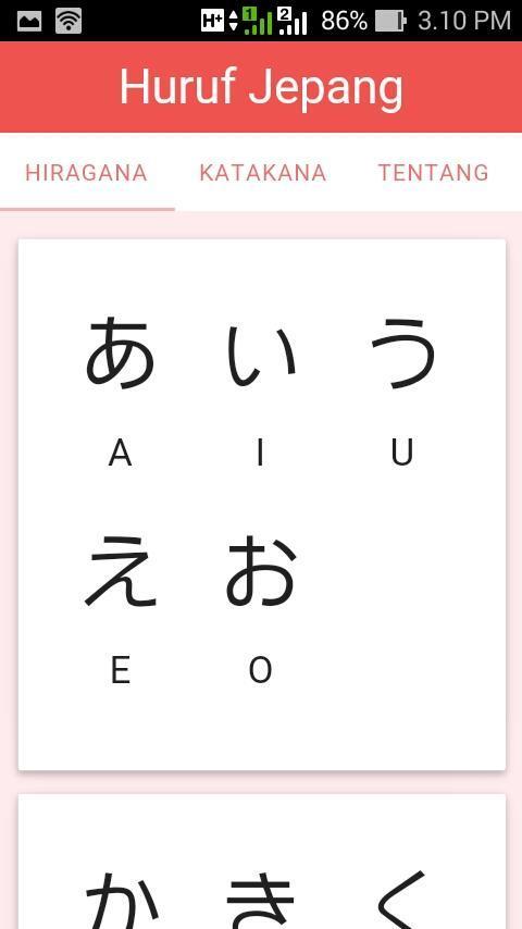 Huruf Jepang For Android Apk Download