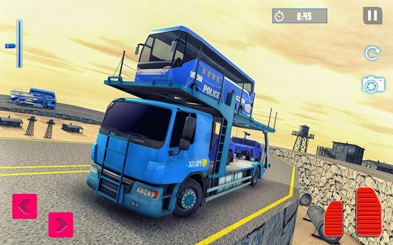 Police Plane Transport: Cruise Transport Games screenshot 10