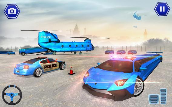 Police Plane Transport: Cruise Transport Games screenshot 23