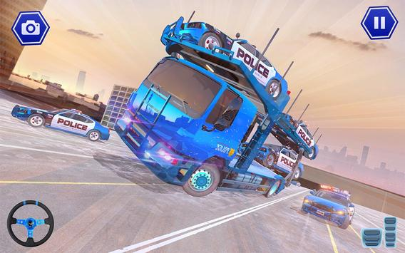 Police Plane Transport: Cruise Transport Games screenshot 20