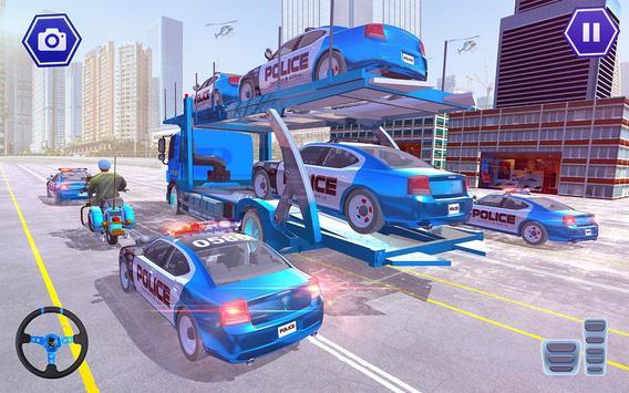Police Plane Transport: Cruise Transport Games screenshot 19