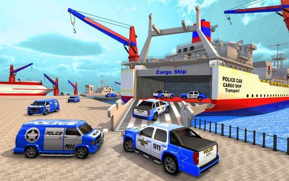 Police Plane Transport: Cruise Transport Games screenshot 16