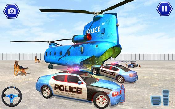 Police Plane Transport: Cruise Transport Games screenshot 14