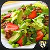Icona Ricette Insalata: cibo sano e nutriente