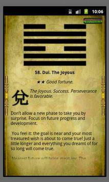 I Ching reading Book of Change скриншот 2