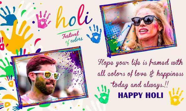 Holi Dual Photo Frames screenshot 5