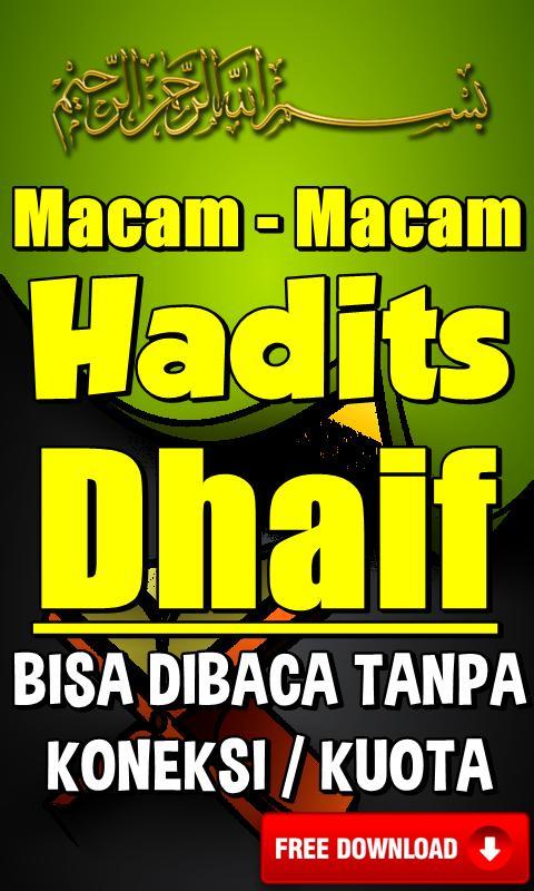 Contoh Hadits Dhaif Mursal 84