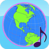ikon Globe Earth 3D Pro: Flags, Anthems and Timezones