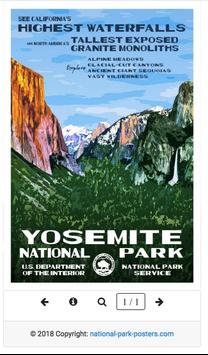 National Park Posters poster
