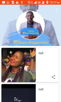 Wilson Bugembe poster