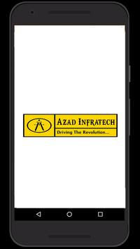 AZAD INFRATECH poster