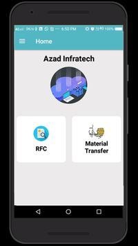 AZAD INFRATECH screenshot 1