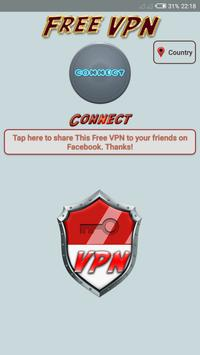 Indonesia Free VPN Unlimited Access screenshot 1