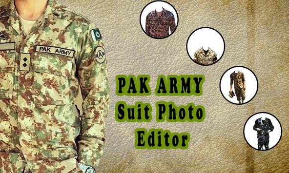Pak Army Dress Editor - Commandos Suit Changer poster