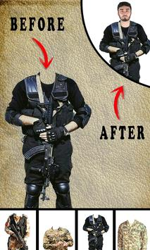 Pak Army Dress Editor - Commandos Suit Changer screenshot 2