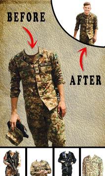 Pak Army Dress Editor - Commandos Suit Changer screenshot 4
