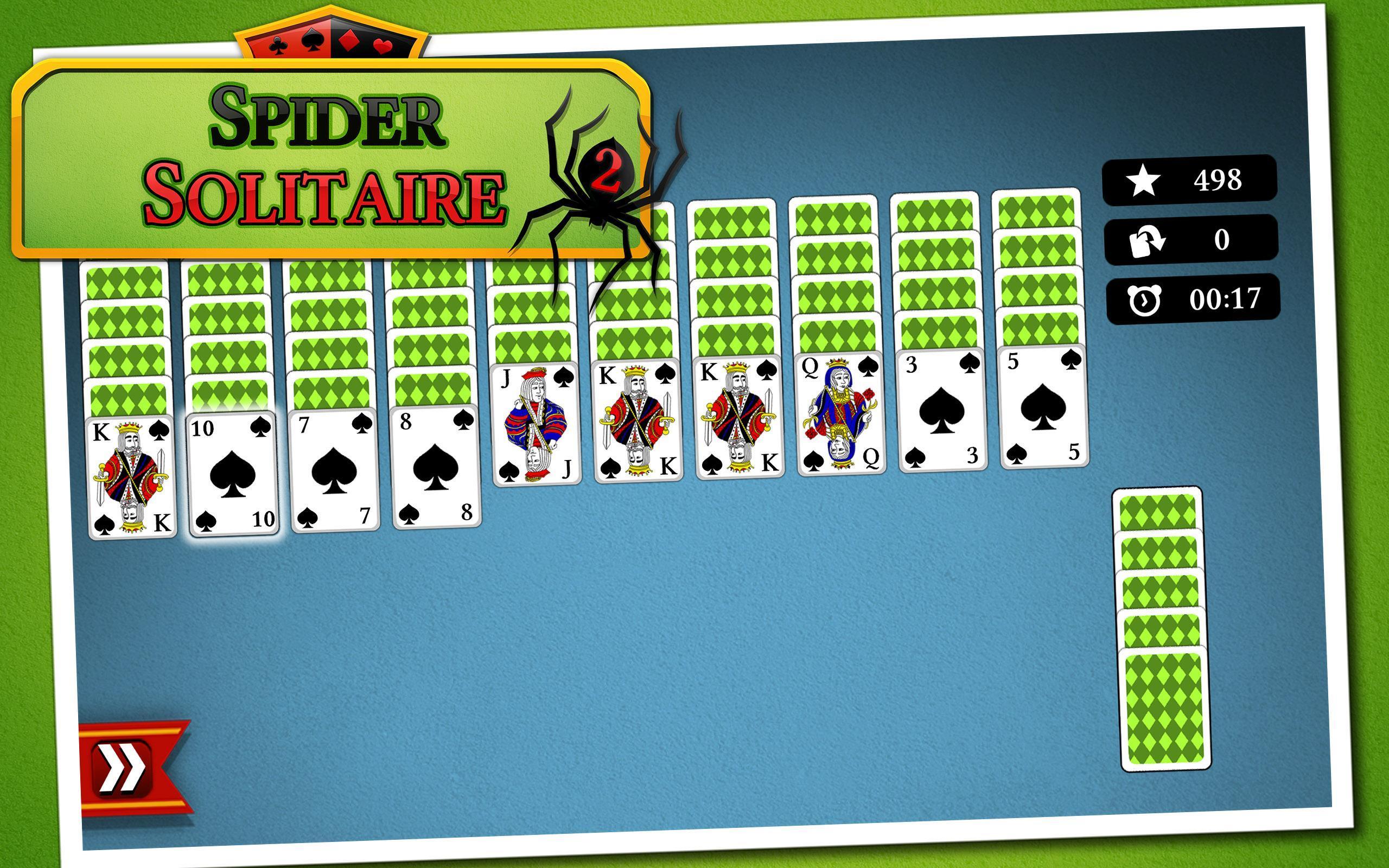 Spider Solitär 2
