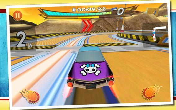 Retro Future Racing screenshot 5