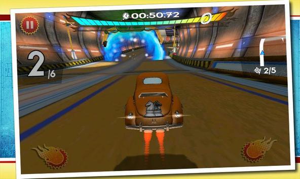 Retro Future Racing screenshot 2