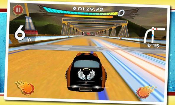 Retro Future Racing screenshot 3